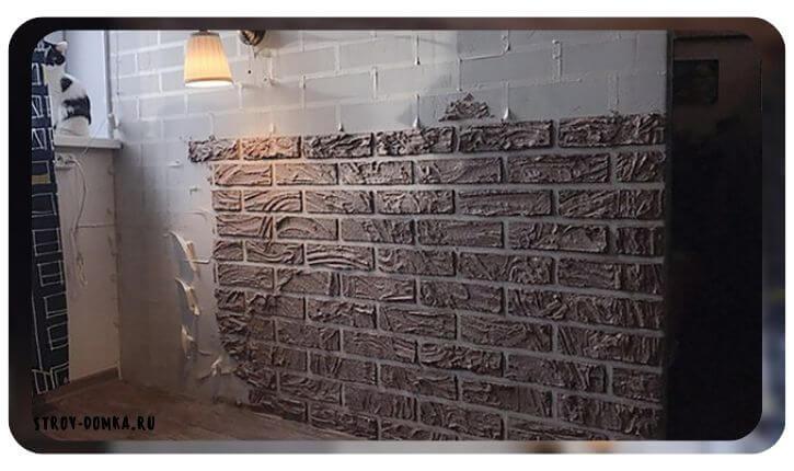 Кирпичная стена – это действительно косметический ремонт своими руками дешево и красиво