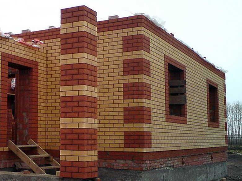 Кирпичный дом для проживания