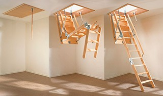 Лестницы для мансарды 2