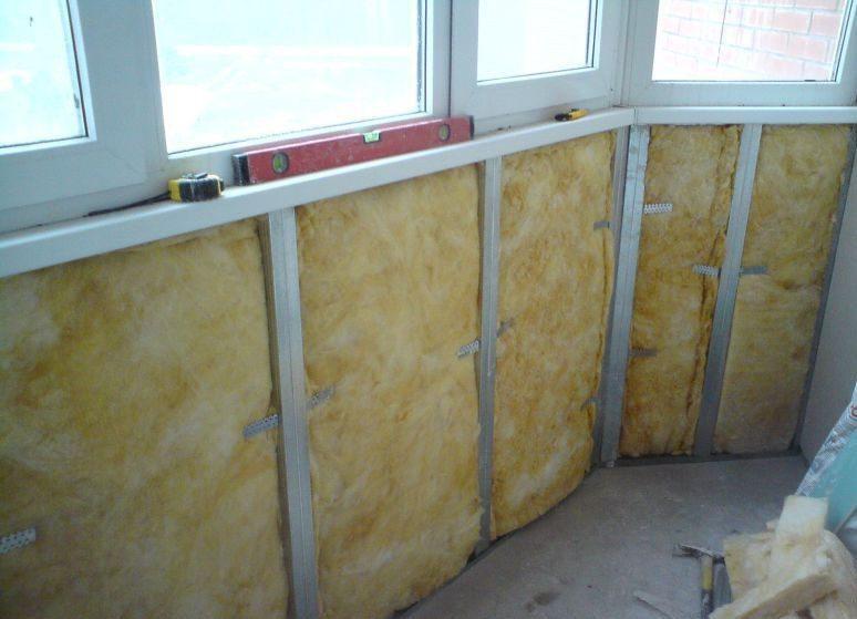 Гидроизоляция и теплоизоляция для кабинет на балконе