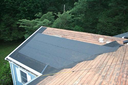 Какое покрытие использовать для крыши - рубероид