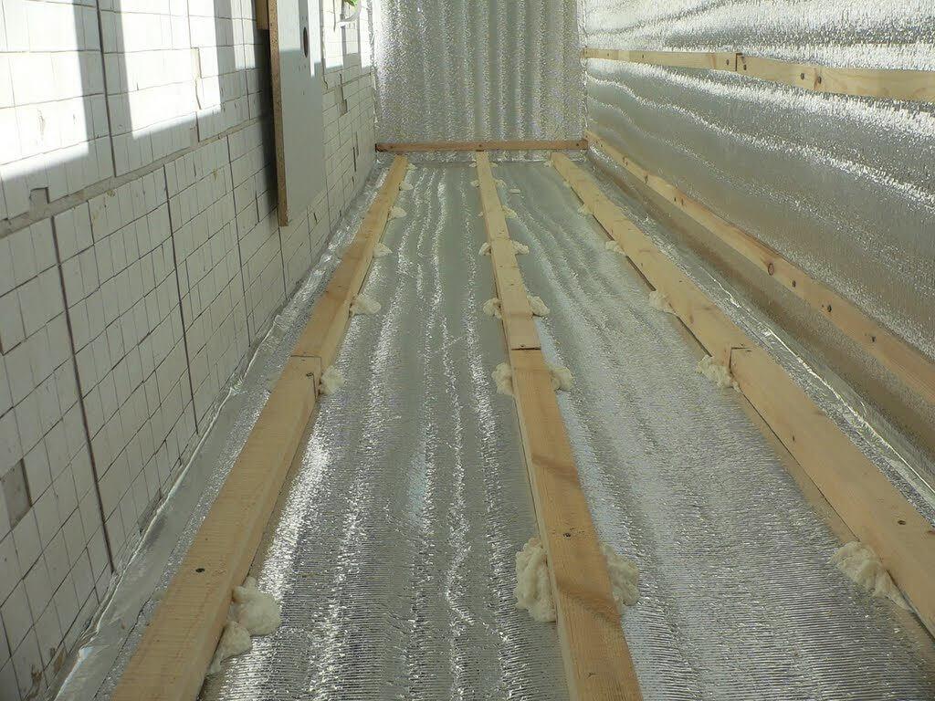 Теплоизоляция для кабинет на балконе