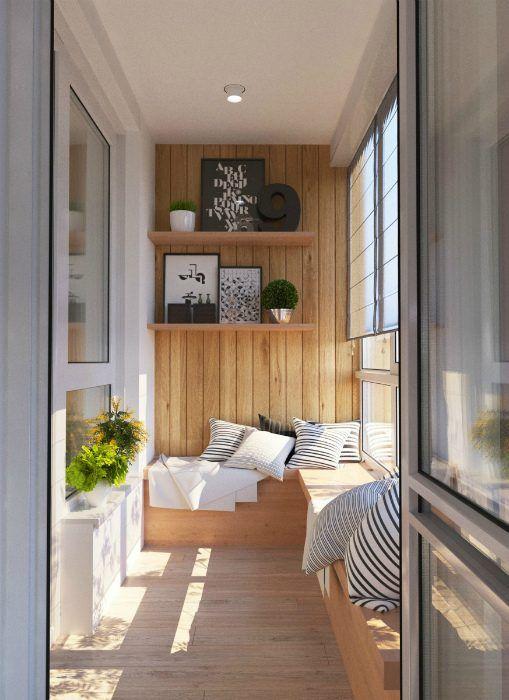 План переоборудования балкона