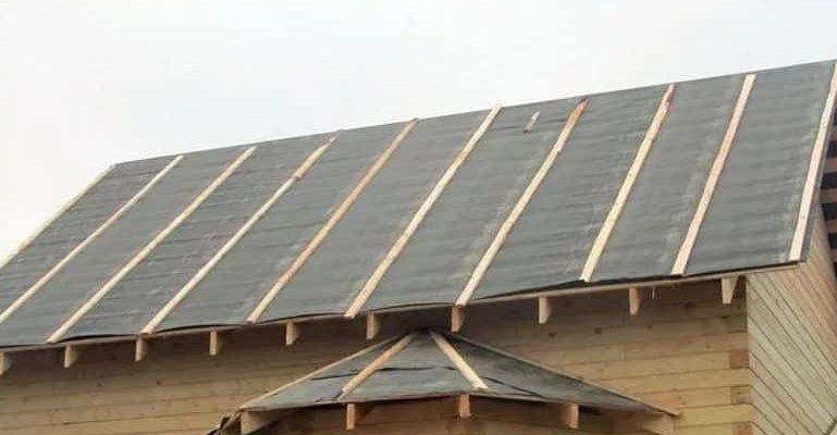 покрытие крыши рубероид