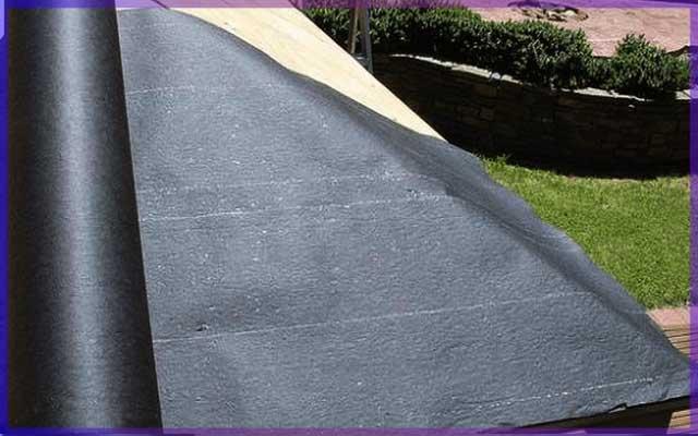 Крыша - покрытие рубероид