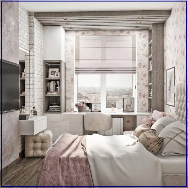 Классический стиль комнаты для девочки
