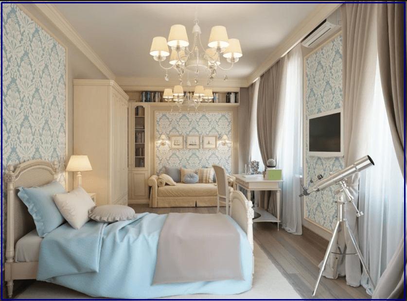 Классический стиль - комната для мальчика подростка