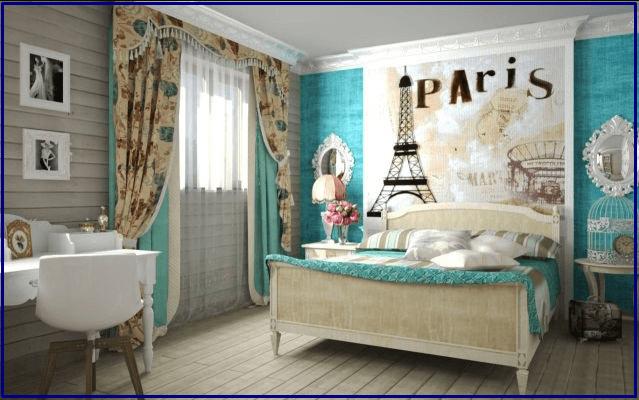 Парижский стиль детской комнаты для девочки