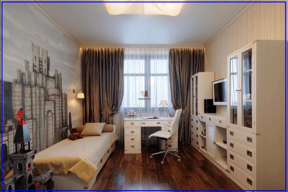 Комната для мальчика подростка - Современный стиль
