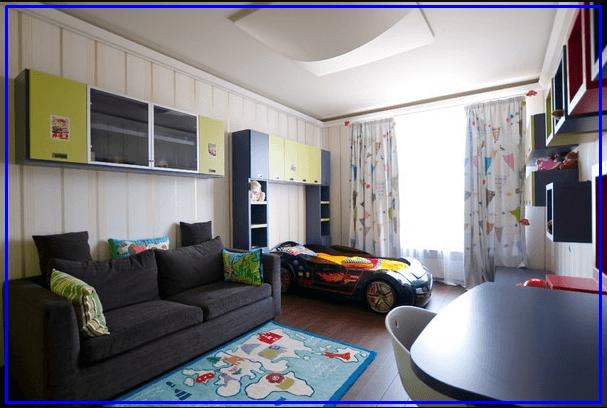Современный стиль - комната для мальчика подростка