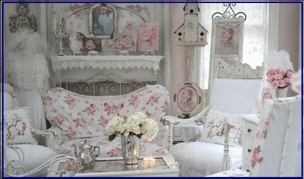 дизайн для комнаты девочке Шебби шик