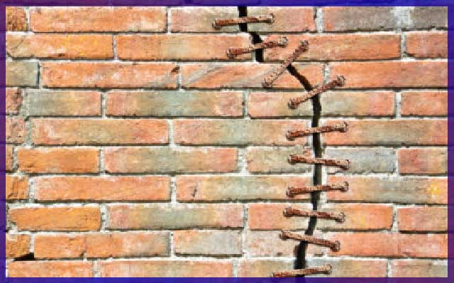 Что делать если в стене появились трещины