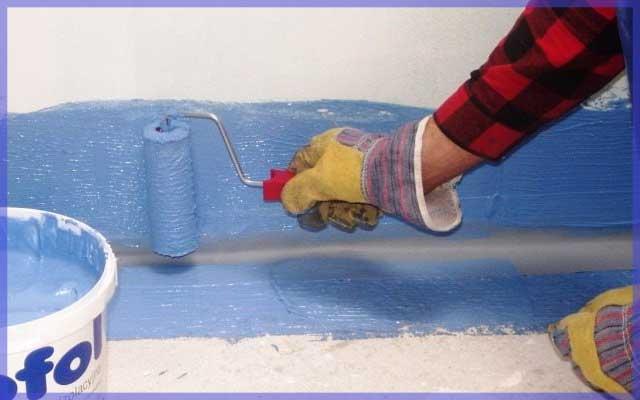 Гидроизоляция для укладка напольной плитки на неровный пол