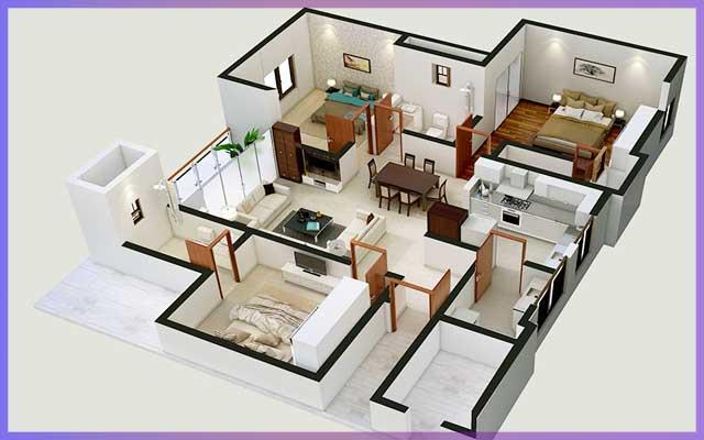 Как построить дом из кирпича - проект и планировка