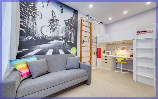 6 основных идеи стилей в дизайне комнаты для мальчика подростка 12-16 лет