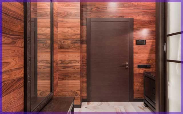 Ламинат для стен, один из новых способ декорирования стен