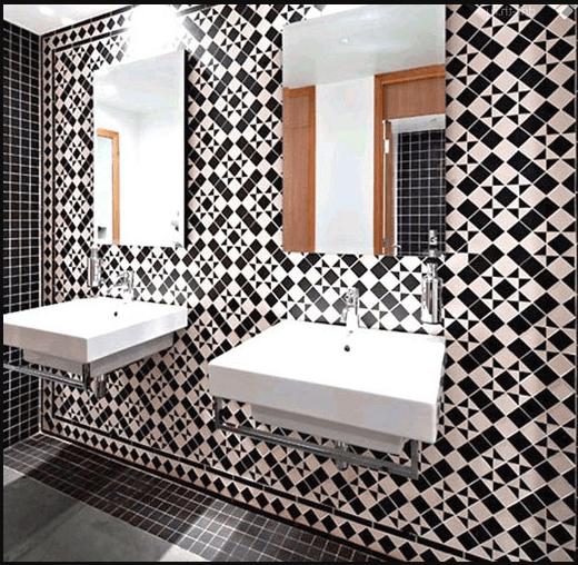 Метлахская плитка для ванны