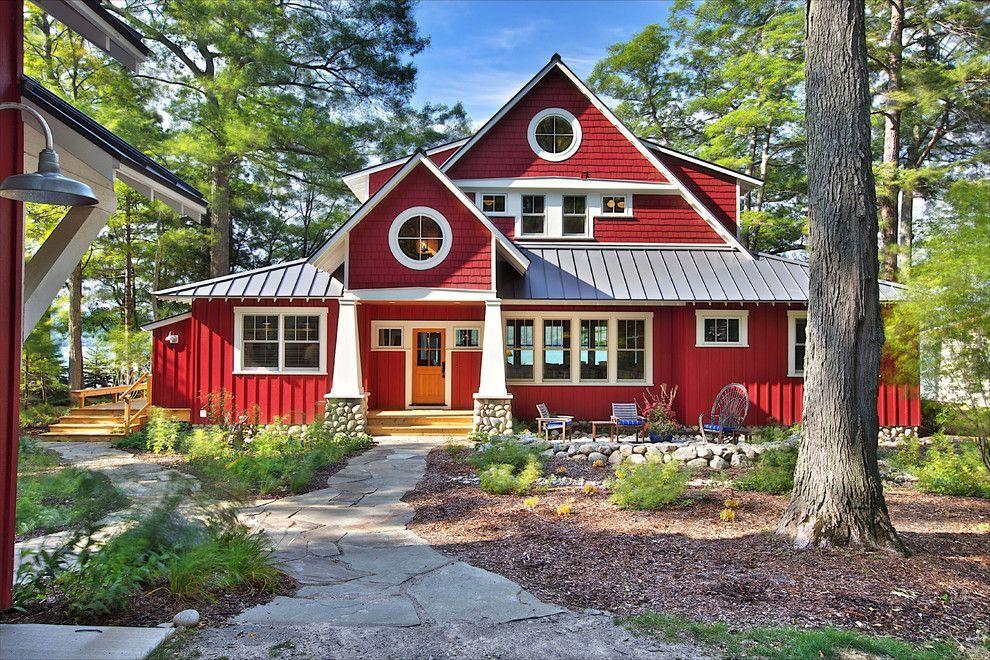 Пример стиля - Норвежские домики