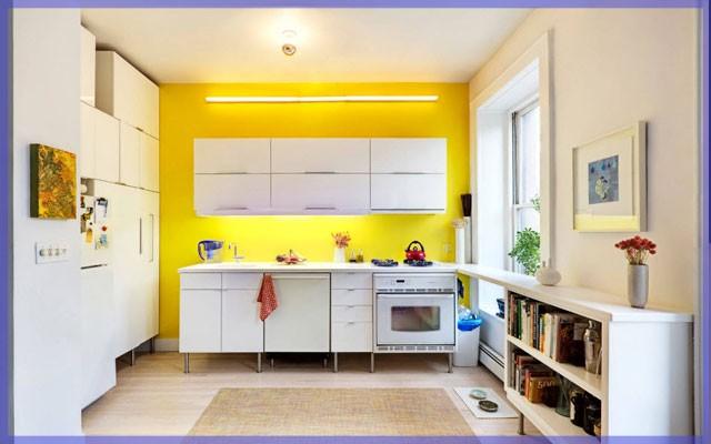 Акриловые краски для стен и потолка в кухню
