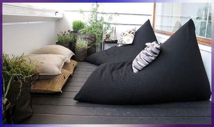 Комната на балконе - комфортно и уютно