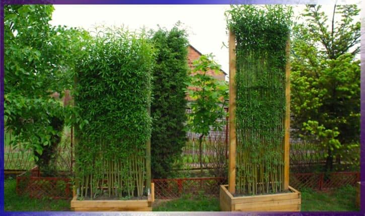 Идеи для дома - садовая ширма