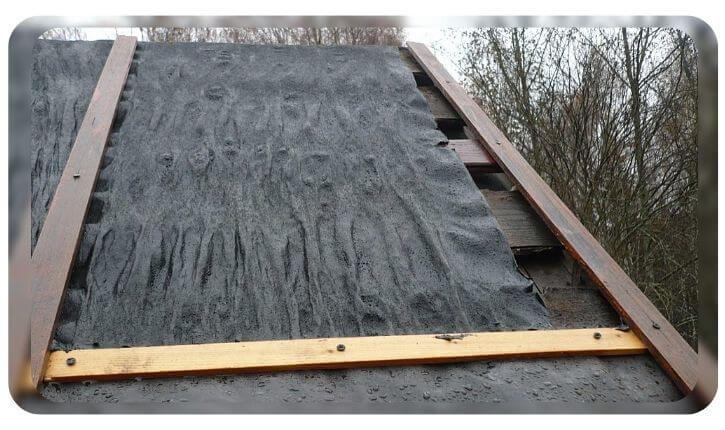 Можно ли под профнастил стелить рубероид на крыши