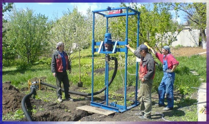 Станки для бурения скважин на воду
