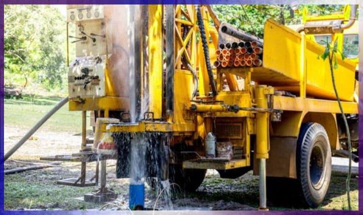 Установка для скважины на воду