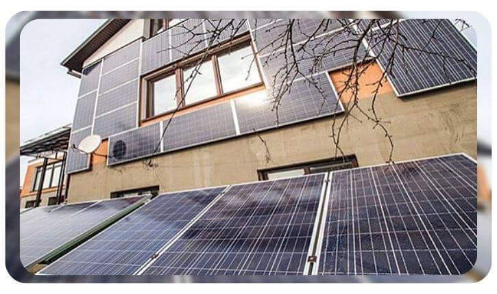 Устройство с использованием солнечных батарей для умного дом