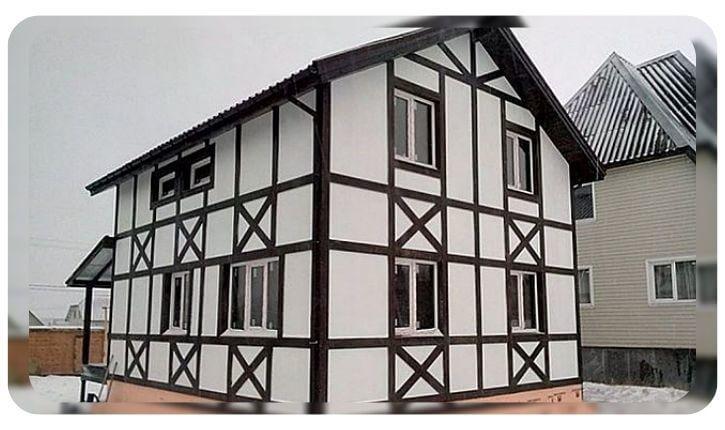 Устройство вентилируемого фасада с применением ОСБ