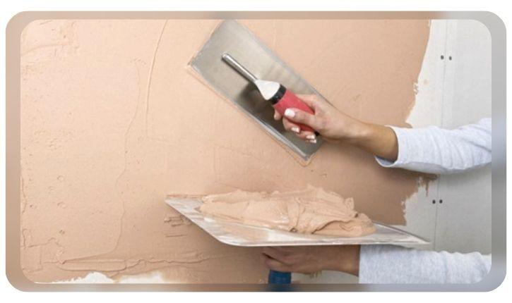 Оштукатуривания поверхностей стен