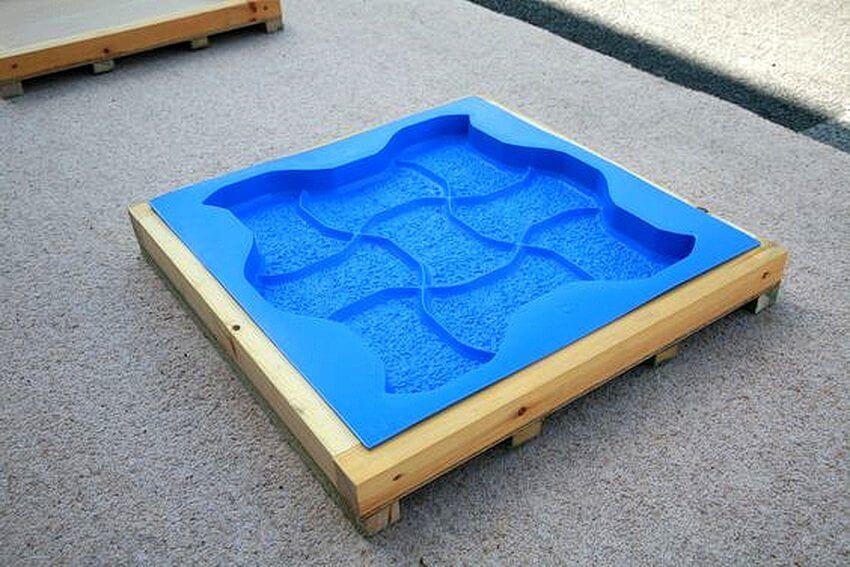 Делаем форму из пластика
