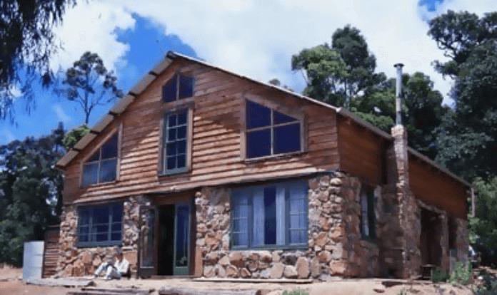 Комбинированные дома из блоков и кирпича 11