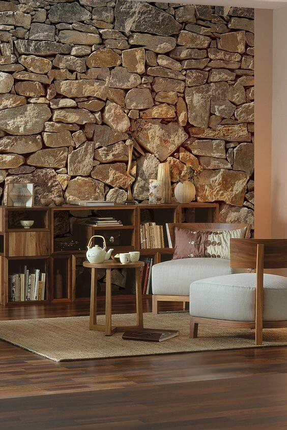Комната из природного камня