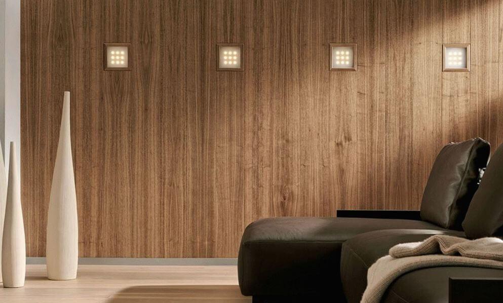 Комната с обоями из бамбука