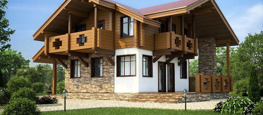 Преимущества комбинированных домов 8