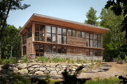 Современные комбинированные дома