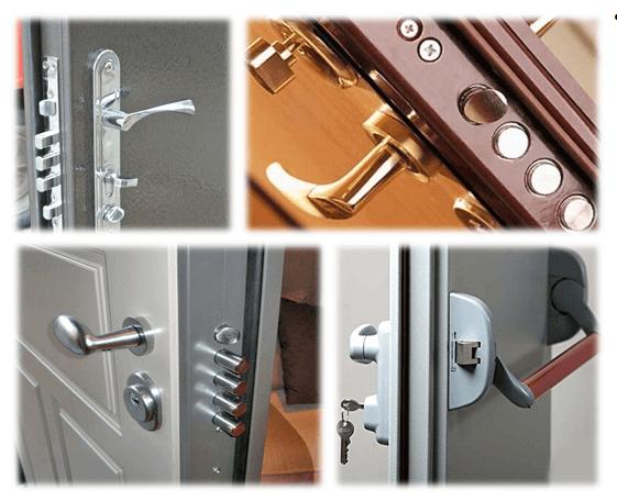 Установка бронированных входных дверей